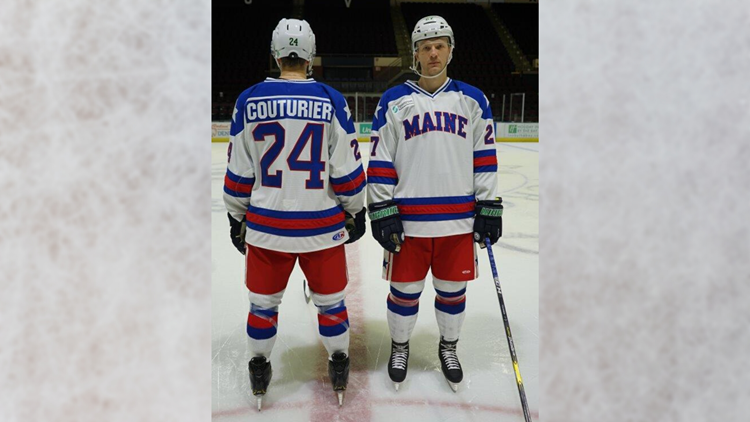 Maine Mariners's Miracle uniforms