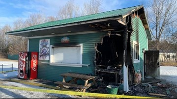 Fire damages Augusta ballfield concession stand