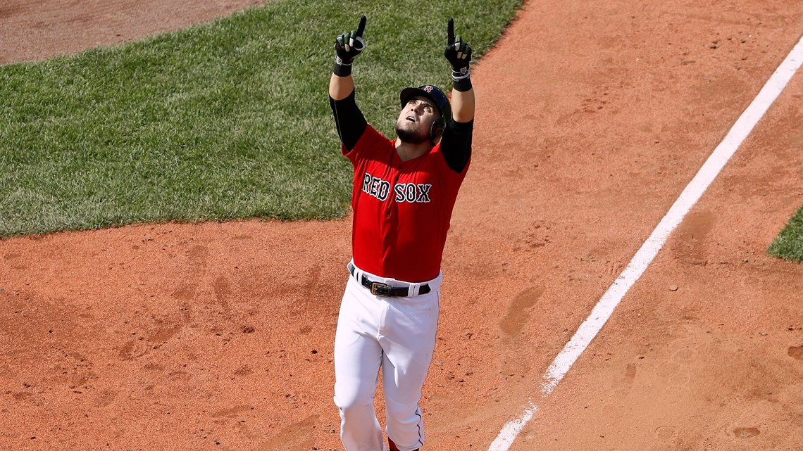 On a day when all of Fenway was cheering Michael Chavis's name, one voice stood out