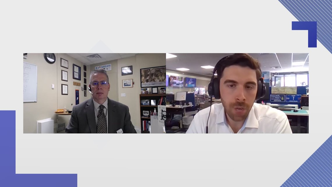 Full Interview: Northern Light Health's Dr. James Jarvis discusses the state of the COVID-19 pandemic and the Delta variant in Maine
