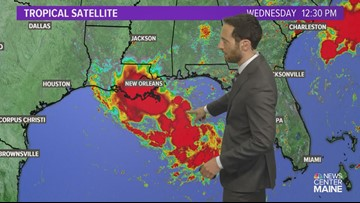 Tropical system in the works down south. Is Barry on the way?