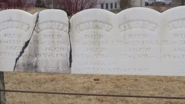 Connecting the past and present through old gravestones