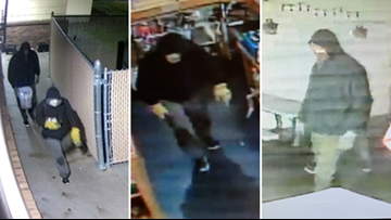 Photos of Greater Portland business burglary suspects released