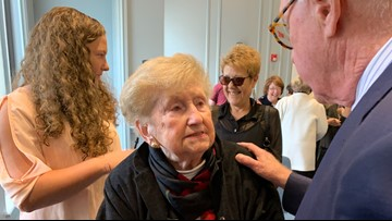 Age is just a number to Saco woman who turned 100