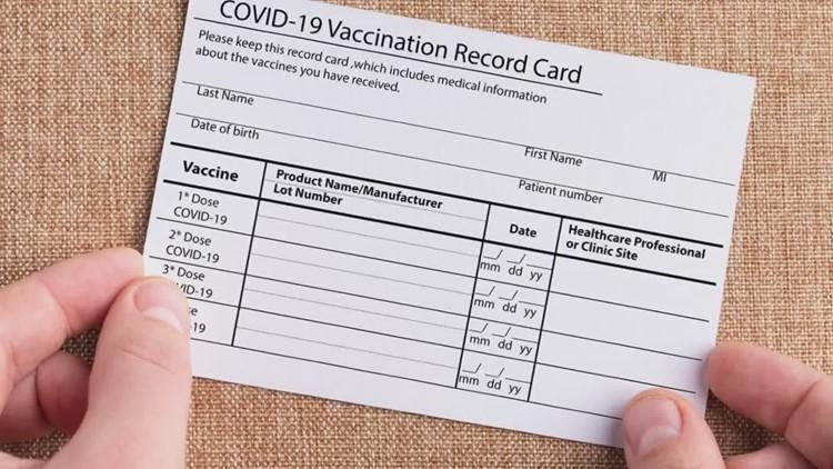 FBI warns against vaccine card fraud