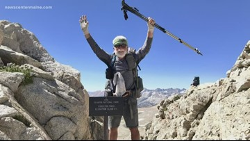 Meet the Mainer who walked from Mexico to Canada—almost