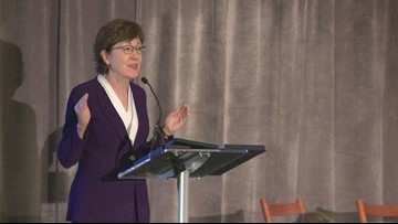 Sen. Collins calls for 'all hands on deck' approach to tackle Alzheimer's