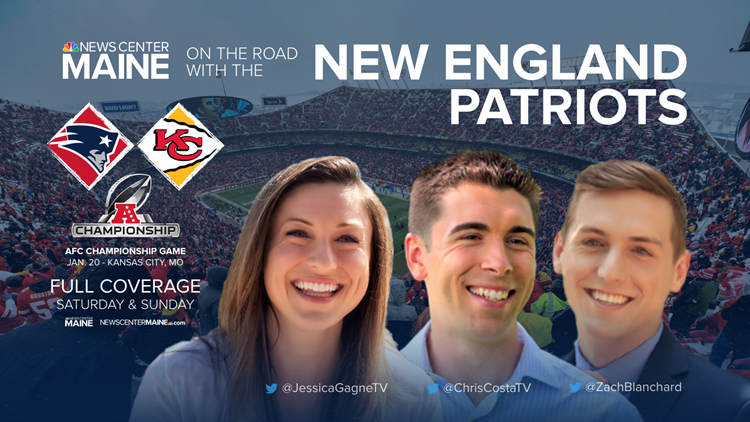 BLOG | Follow the NEWS CENTER Maine team to Arrowhead for the AFC Championship