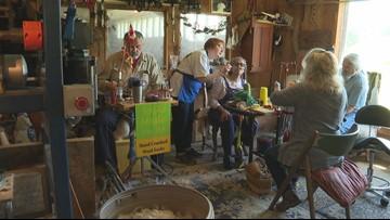 Good Karma Farm holds 8th annual sock crank-in