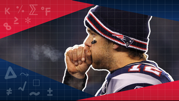 Do the Patriots play better in the cold? Here's what the statistics show