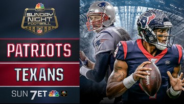New England Patriots vs Houston Texans on NCM