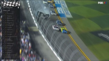Mainers witness serious Daytona 500 crash first hand