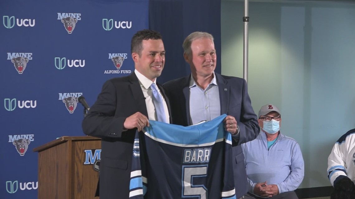UMaine's new men's hockey coach arrives on campus