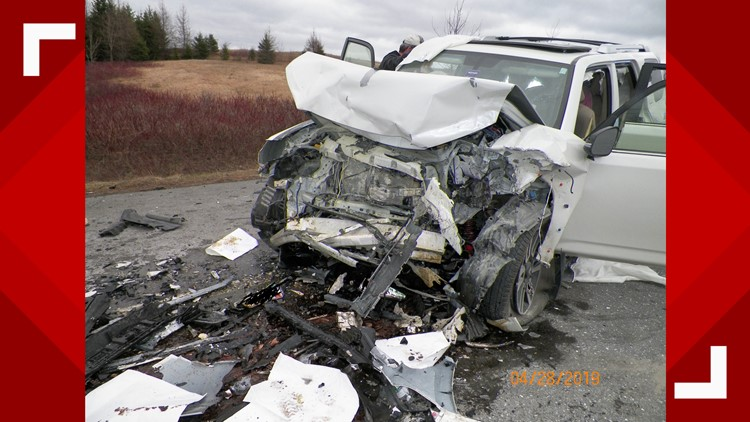 Person from Old Town dies in head-on crash in Bridgewater
