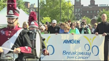 The Dempsey Challenge survivor walk