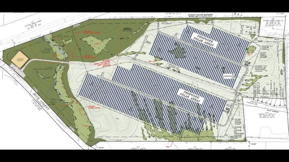 Maine Mall-sized solar farm considered in Gorham