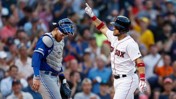 Early-inning outburst bolsters Boston against unreliable bullpen