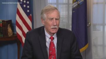 Sen. King is praising the $2.2 trillion bill passed in Washington