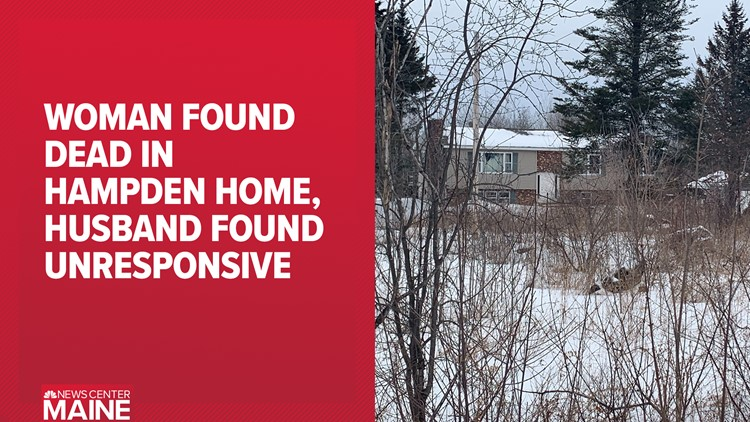 Elderly woman found dead at her home in Hampden