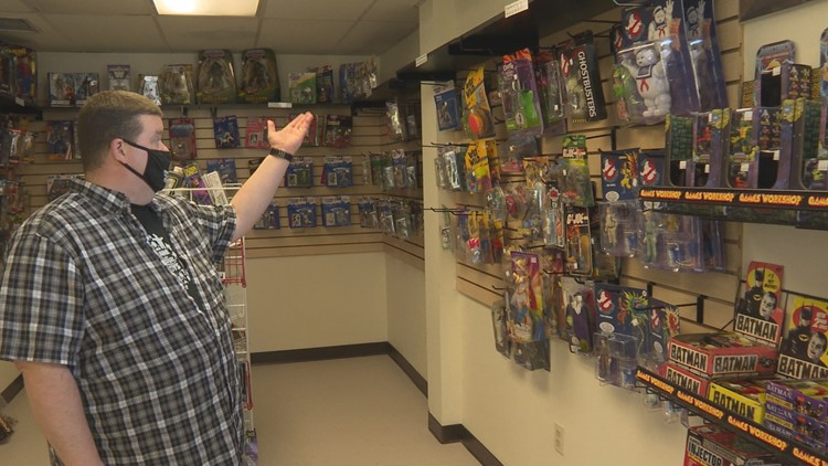 Keep ME Open: Toy collecting family opens shop in South Portland
