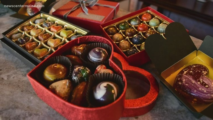Chocolates that are part art, all delicious!
