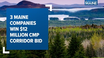 3 Maine companies win bid to share $12 million mat contract for CMP transmission line project