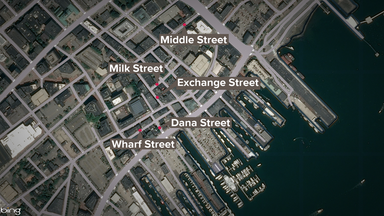Portland street closures