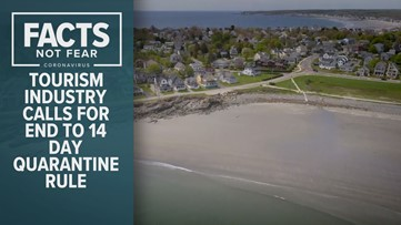 Maine tourism groups call for an end to 14-day quarantine rule for out-of-state visitors