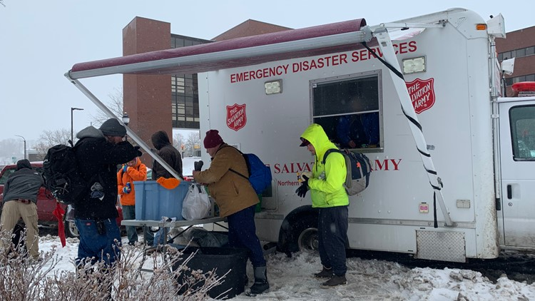 Salvation Army gives to community