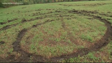Community comes together to repair Shaker Village field