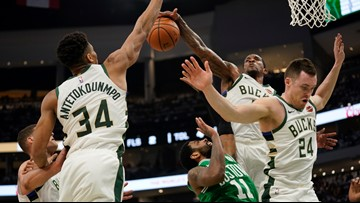 While Antetokounmpo elevates in Game 2, Celtics can't compensate on defense