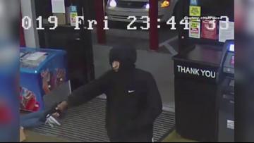 Surveillance footage of the North Little Rock Arkansas robbery