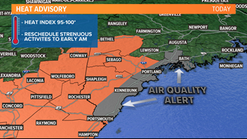 Heat Advisory, Air Quality Alert issued for Tuesday | Breton Blog