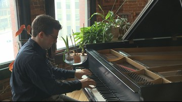 The pop song that inspired an acclaimed pianist from Maine