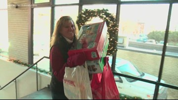 Deb Roberts yet again donates gracious load of toys in honor of son