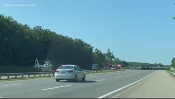 8 injured in pair of Maine crashes Sunday