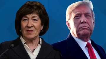 President Trump endorses Sen. Collins on Twitter