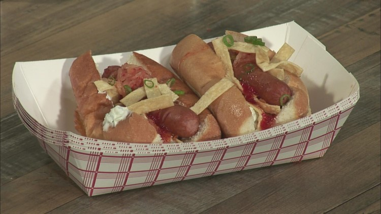 Not your traditional hot dog; Maine chef takes dogs to a new level