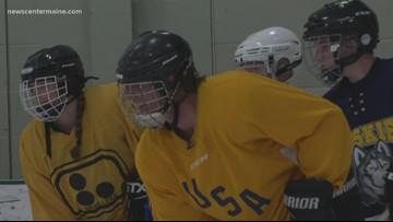 Maine Blind Bears Hockey