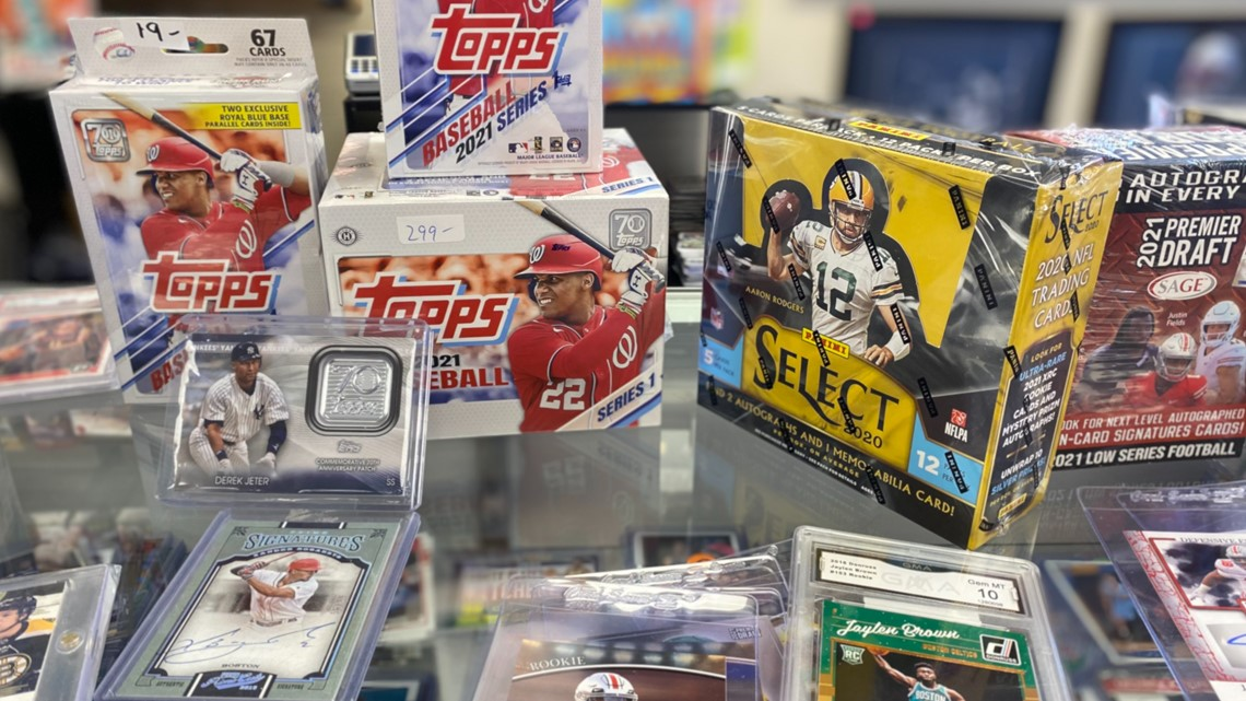 Pandemic creates resurgence of sports card collecting