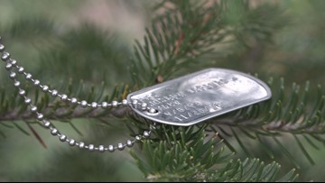 Wreaths Across America tags trees to remember veterans