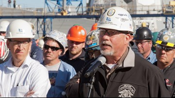 Union says BIW hiring crunch a 'manufactured crisis' designed to bring in subcontractors