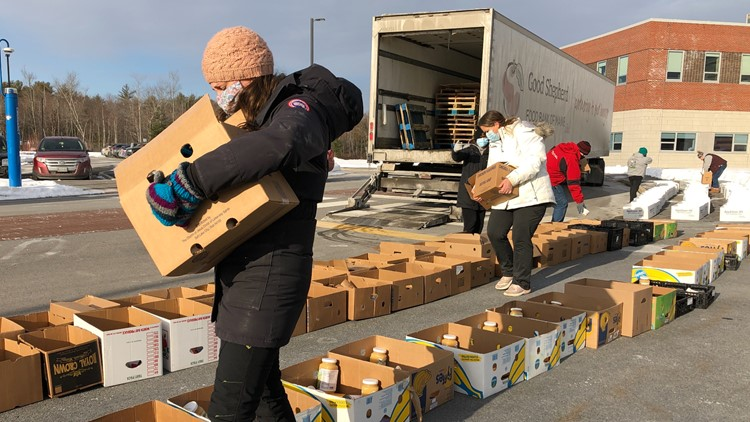 75,000 lbs. of food to be distributed in Sanford on Thursday