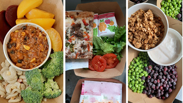 Homemade hot lunch made with local ingredients by local businesses isn't just feeding students but a community