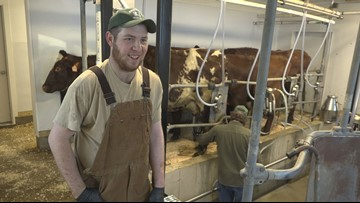 """#startMEup: Young farmer """"milks"""" opportunity"""