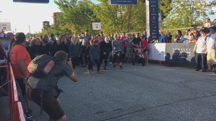 5K/10K run and walk presented by Poland Spring Brand is a non-biking option for Dempsey Challenge participants