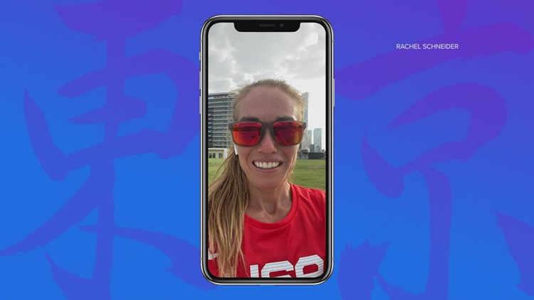Olympian and Sanford native Rachel Schneider shares scenes from Tokyo