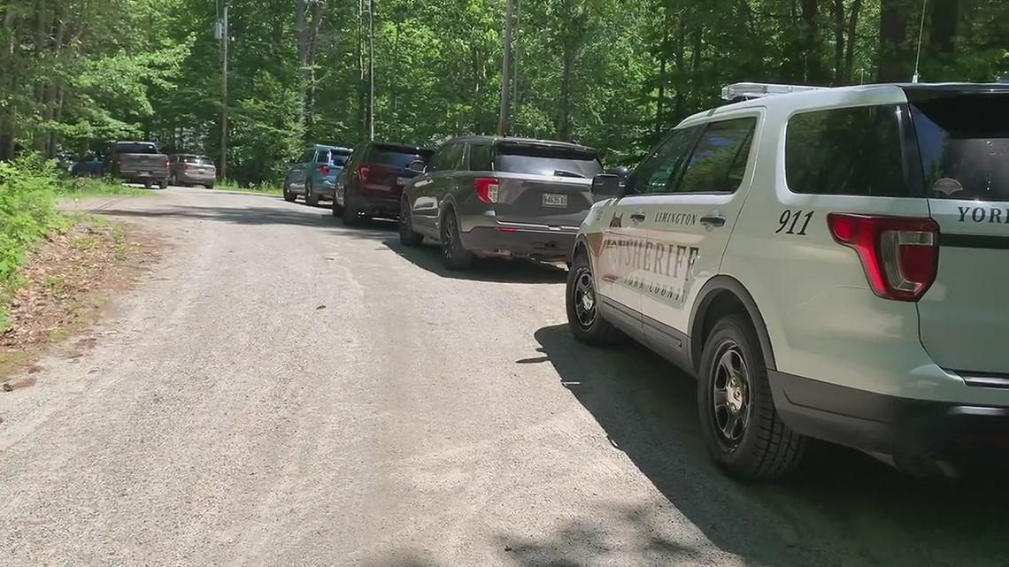Lumberjack Ct. North Waterboro police investigation scene
