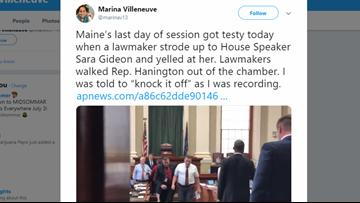 Lawmaker apologizes for yelling at Maine speaker over asylum seeker debate