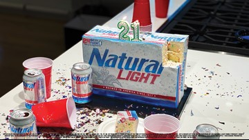 Natural Light offering birthday present for those turning 21 this year